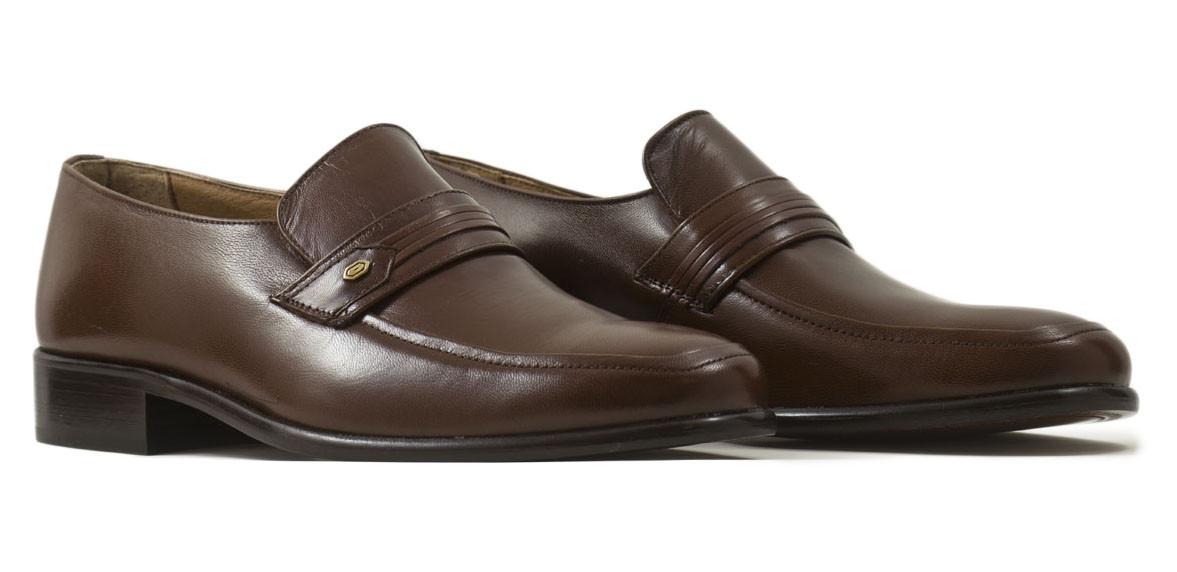 Zapato vestir marrón