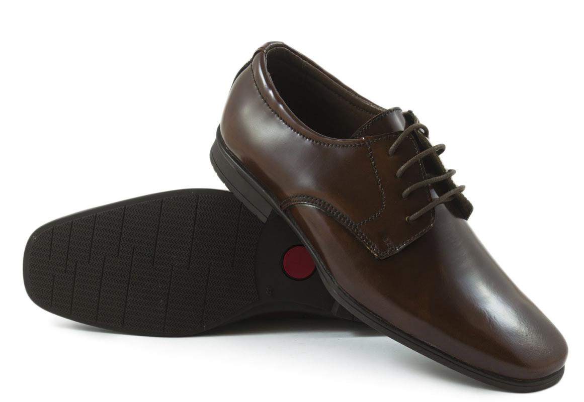 Zapato piel marrón