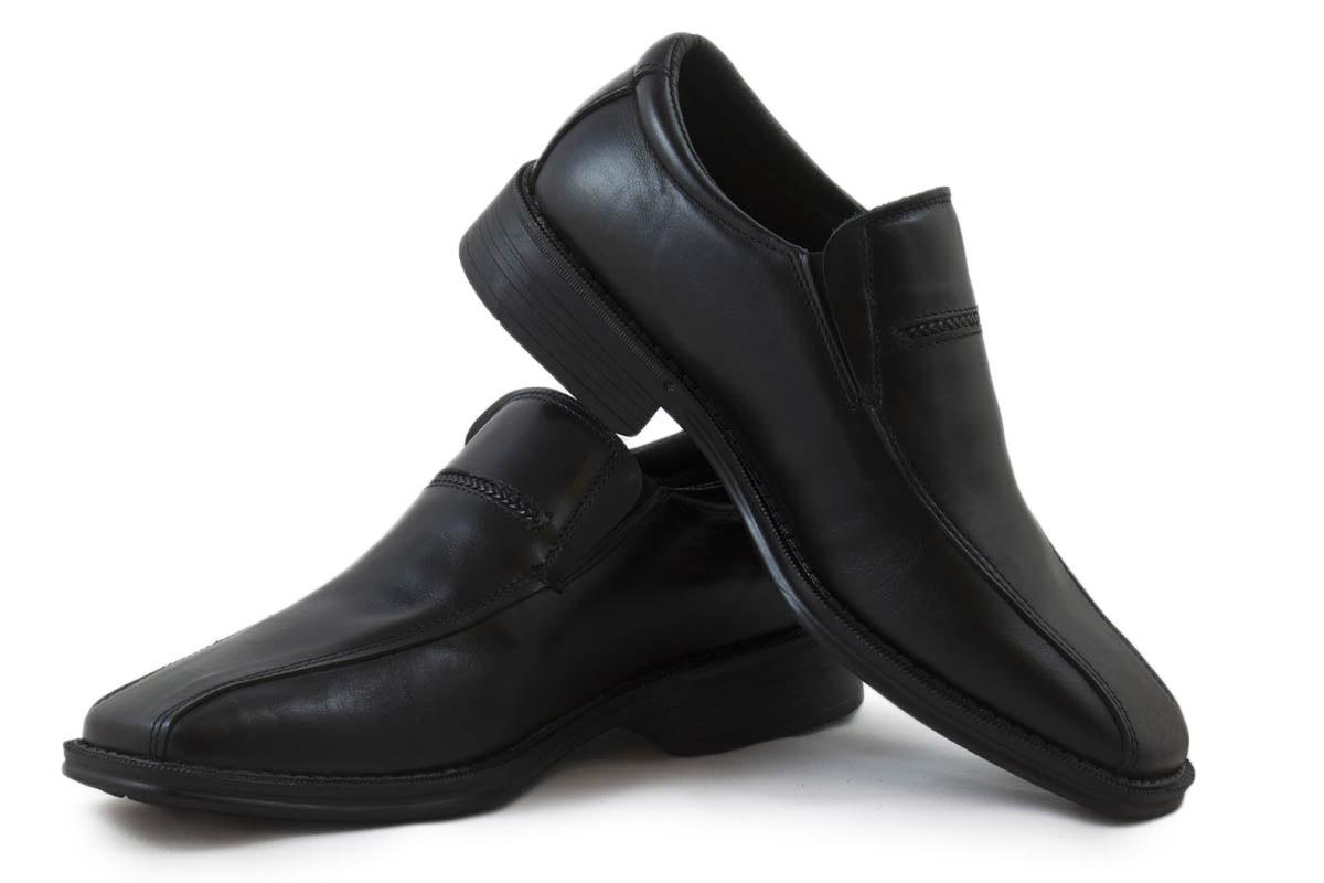 Zapato piel negro elegante