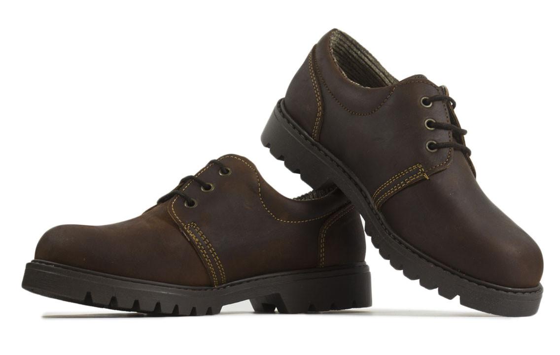 Zapato nobuk marrón