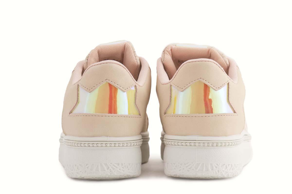 zapatillas urbanas rosas palo